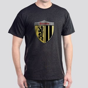 Dresden Germany Metallic Shield T-Shirt