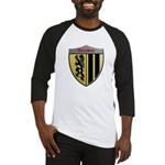Dresden Germany Metallic Shield Baseball Jersey