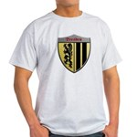 Dresden Germany Metallic Shield T-Shirt