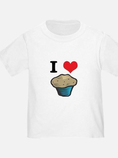 I Heart (Love) Muffins T