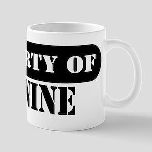 Property of Jeanine Mug