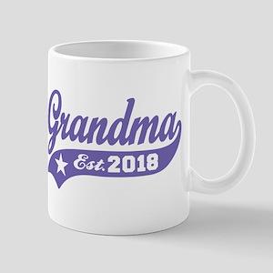 Grandma Est. 2018 11 oz Ceramic Mug