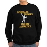 Disregard Females Acquire Aesthetics Sweatshirt