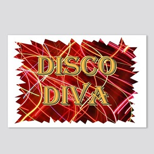 ...Disco Diva... Postcards (Package of 8)