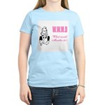 What Would Martha Do Women's Pink T-Shirt