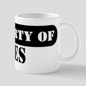 Property of Ines Mug