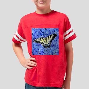 Yellow Swallowtail Butterfly  Youth Football Shirt