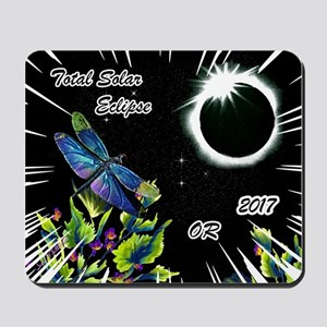 Dragonfly Eclipse_OR Mousepad