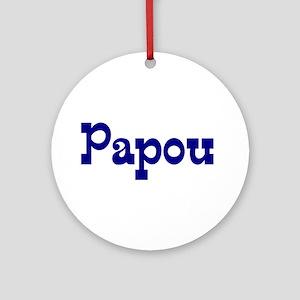 Papou Ceramic Ornament
