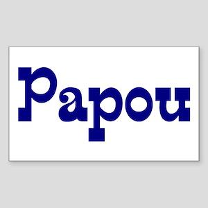 Papou Vinyl Sticker