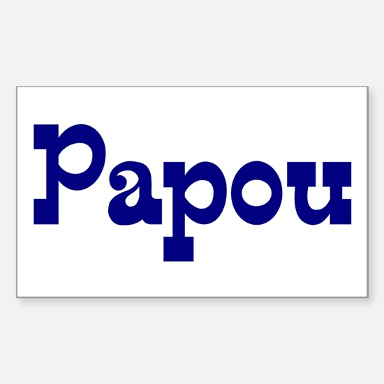 Papou Vinyl Decal