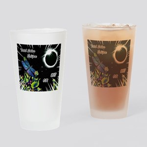Dragonfly Eclipse_OR Drinking Glass
