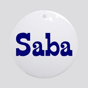Saba Ceramic Ornament