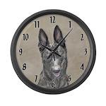 Dutch Shepherd Large Wall Clock