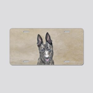 Dutch Shepherd Aluminum License Plate