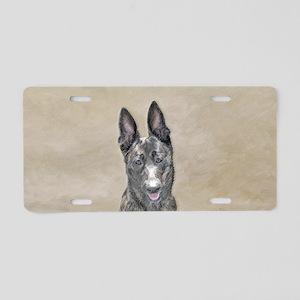 Dutch Shepherd Aluminum License Plate