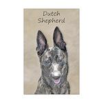 Dutch Shepherd Mini Poster Print