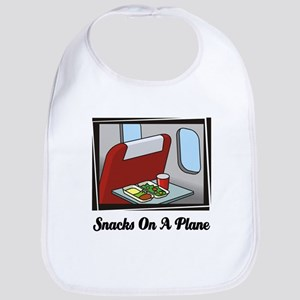 Snacks On A Plane Bib