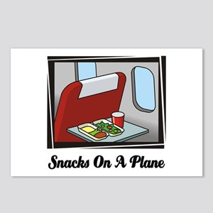 Snacks On A Plane Postcards (Package of 8)