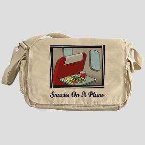 Snacks On A Plane Messenger Bag