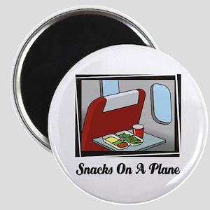 Snacks On A Plane Magnet