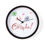 It's The Crimbo Wall Clock
