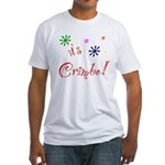 It's The Crimbo Fitted T-Shirt