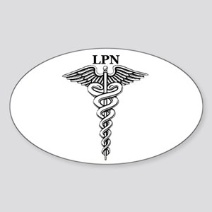 Licensed Practical Nurse Sticker (Oval)