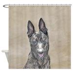 Dutch Shepherd Shower Curtain