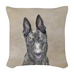 Dutch Shepherd Woven Throw Pillow
