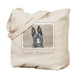 Dutch Shepherd Tote Bag