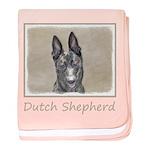 Dutch Shepherd baby blanket