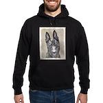 Dutch Shepherd Hoodie (dark)