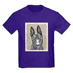 Dutch Shepherd Kids Dark T-Shirt