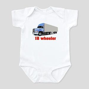 18 Wheeler Infant Bodysuit