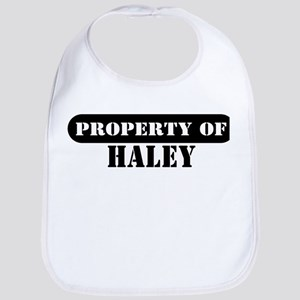 Property of Haley Bib