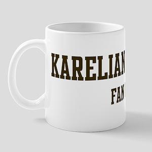 Karelian Bear Dog Fan Club Mug