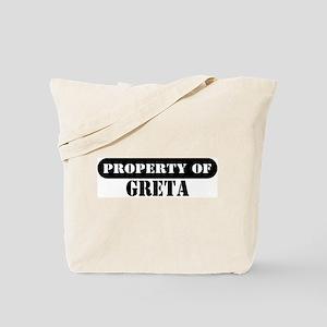 Property of Greta Tote Bag