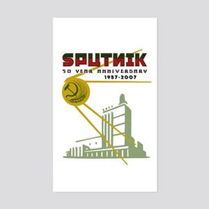 SPUTNIK 2 Rectangle Sticker