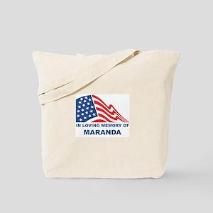 Loving Memory of Maranda Tote Bag