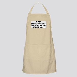 If my Chinese Crested BBQ Apron