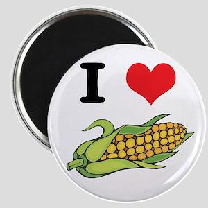 I Heart (Love) Corn (On the Cob) Magnet