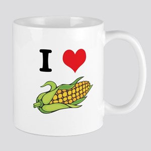 I Heart (Love) Corn (On the Cob) Mug