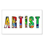 Artist-paint splatter Sticker