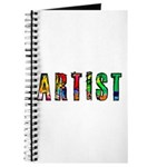 Artist-paint splatter Journal