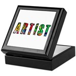 Artist-paint splatter Keepsake Box