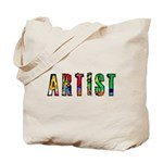 Artist-paint splatter Tote Bag
