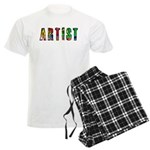 Artist-paint splatter Pajamas
