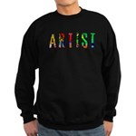 Artist-paint splatter Sweatshirt