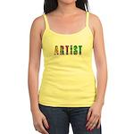Artist-paint splatter Tank Top
